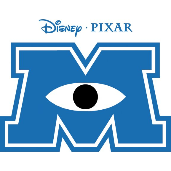 Monster university logo vector