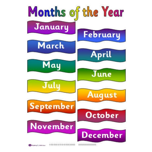 Months of the Year Clip Art | Clipart Panda - Free Clipart Images