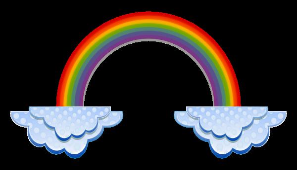 clipart panda rainbow - photo #32