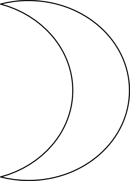 Quarter Of A Circle Clipart