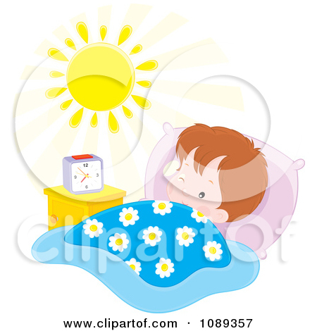 morning-clipart-1089357-Boy-Waking-In-The-Morning-Poster-Art-Print jpgClipart Boy Waking Up In The Morning