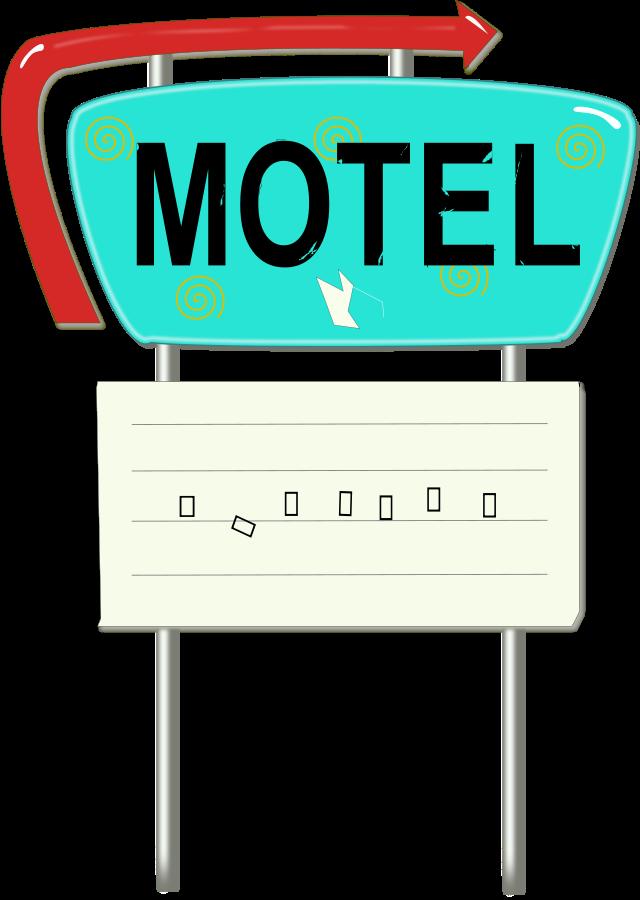 motel cartoon