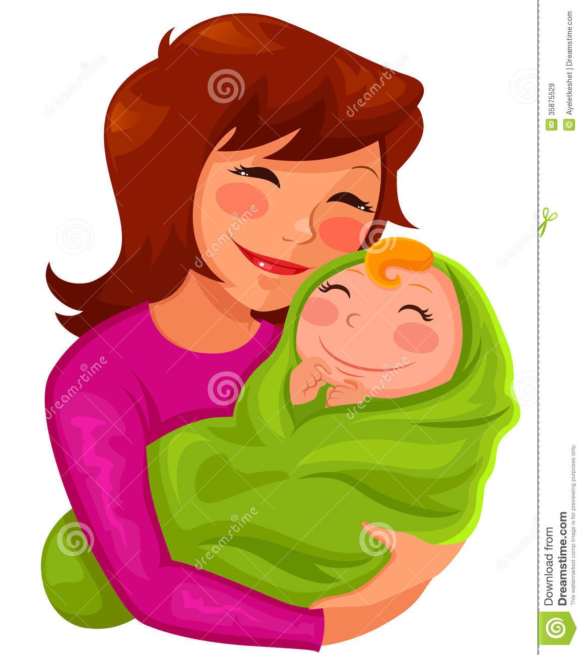 Happy Mom Clipart