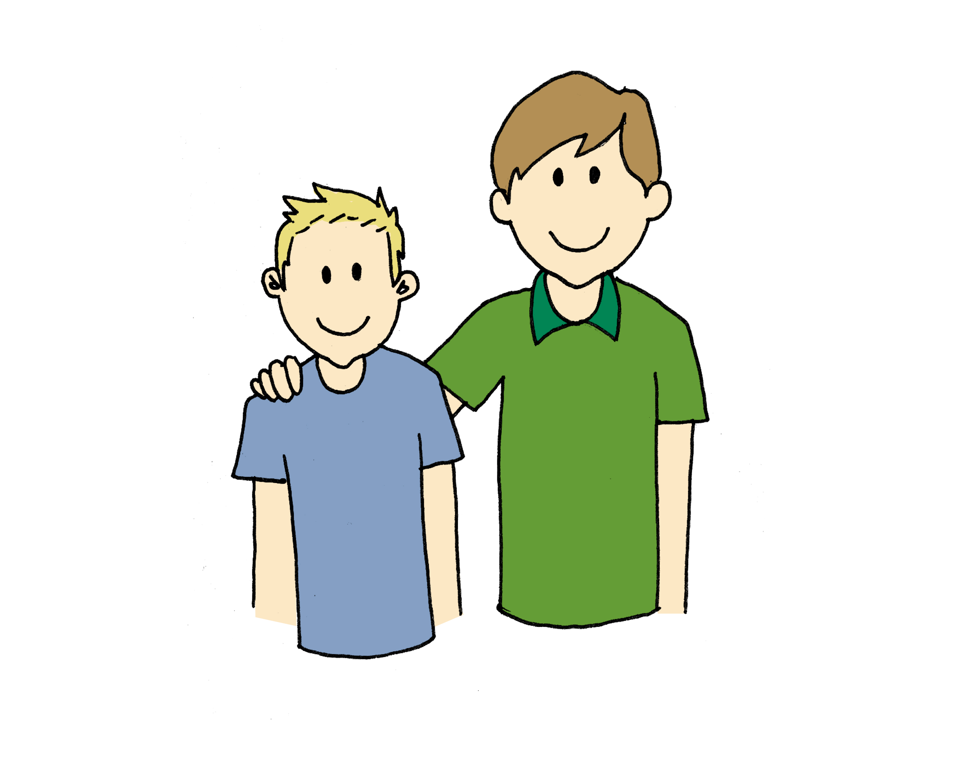 Image Father And Son Clip Art Download