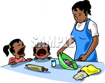 Black Woman Cooking Clipart | Clipart Panda - Free Clipart Images