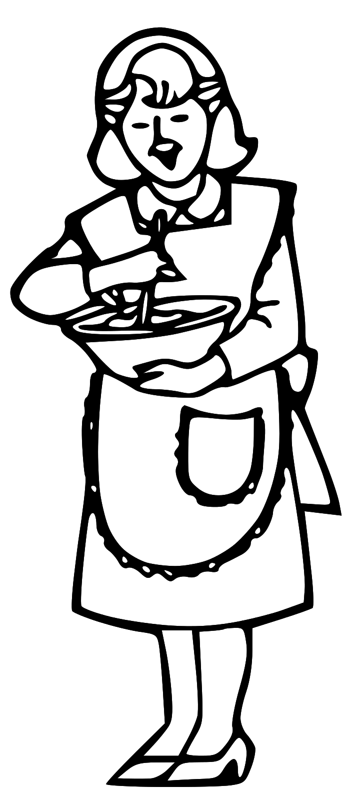 mother cooking clipart clipart panda free clipart images