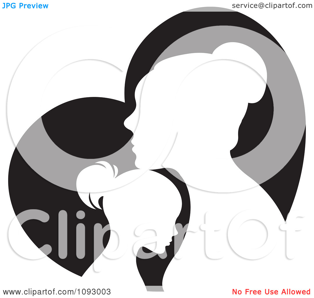 free clip art mother child - photo #48