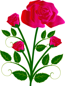 Free Clip Art Roses Borders