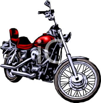 motorcycle clipart featuring moon clipart panda free