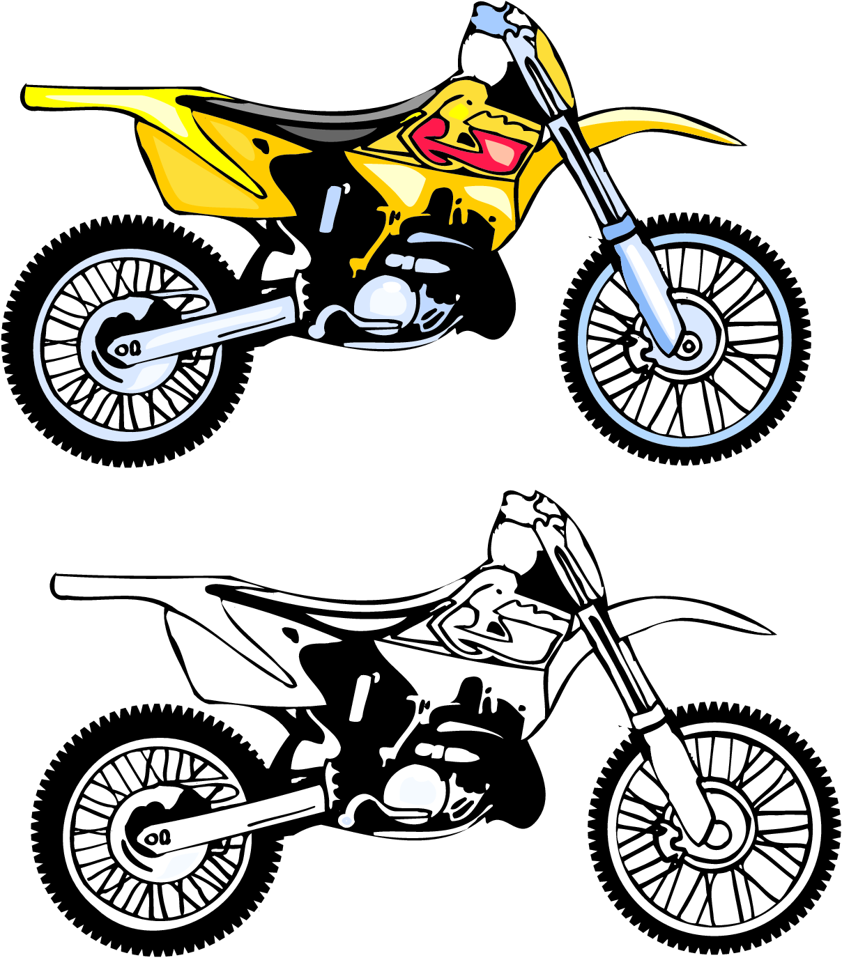 Motorcycle Clipart | Clipart Panda - Free Clipart Images