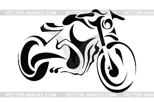 Harley Motorcycle Clipart Black And White | Clipart Panda - Free ...