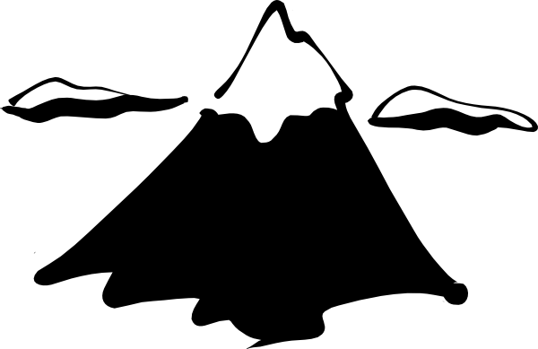 Delightful Mountain Clip Art