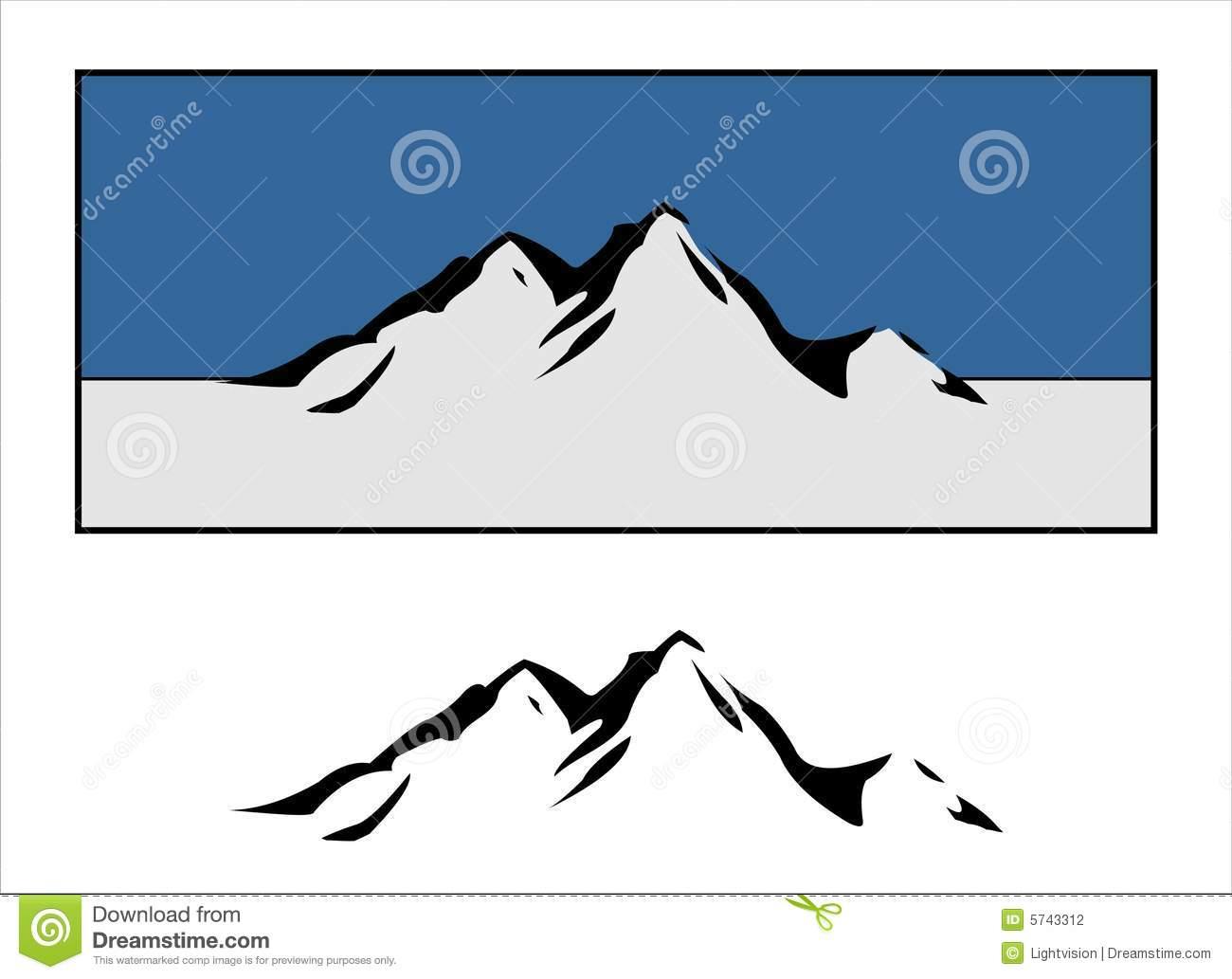 free vector clipart mountain - photo #48