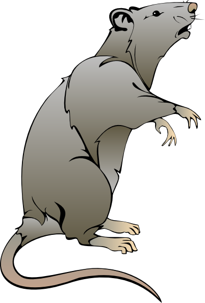Mouse Standing Clipart