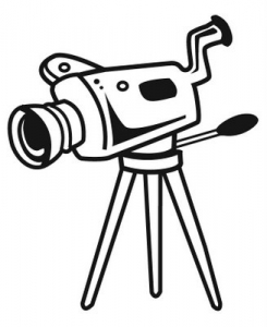 movie camera clipart clipart panda free clipart images rh clipartpanda com vintage movie camera clipart movie video camera clipart