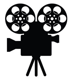 Lights action camera clip art clipart panda free - Clipart cinema gratuit ...