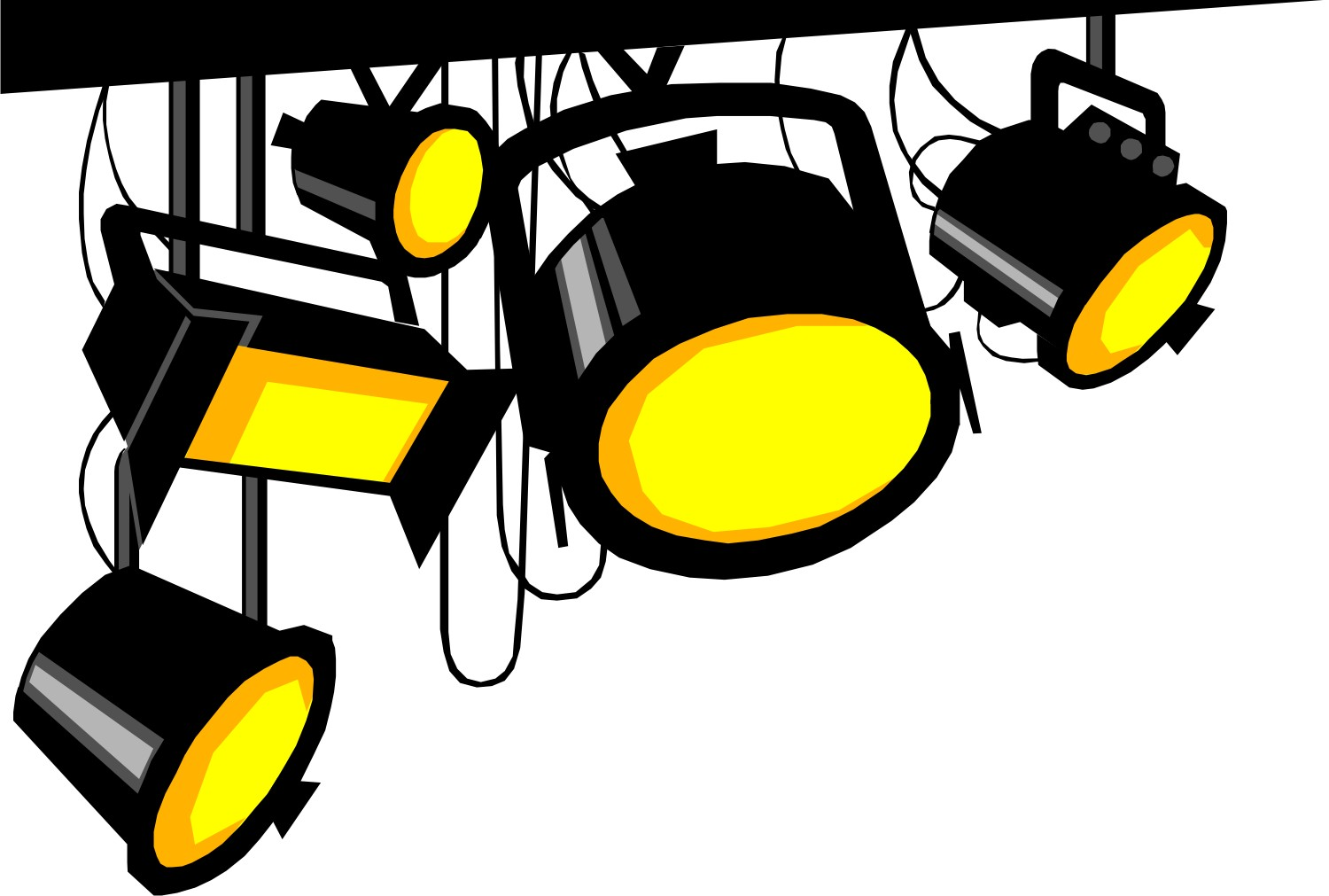 movie lights clipart clipart panda free clipart images rh clipartpanda com light clip art free lights clipart