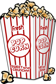 Bild: Popcorn im Kino | Clipart Panda - Free Clipart Images