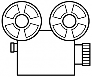 Clip Art Movie Reel Clip Art movie reel clipart border panda free images