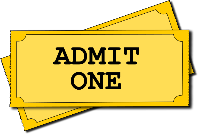 Movie ticket. Clipart panda free images
