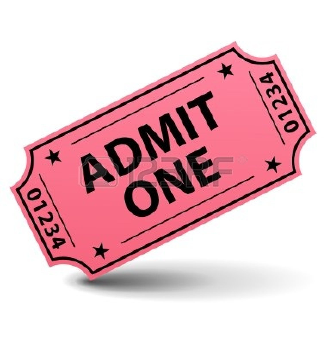 Blank Admit One Ticket Template Movie Ticket Vector 9146388 Admit One  Ticket Blank Admit One Ticket  Blank Admit One Ticket Template