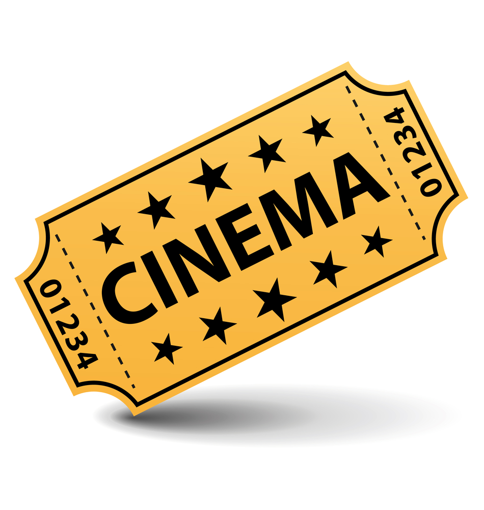 Images Of Movie Tickets | Clipart and Vector Collection