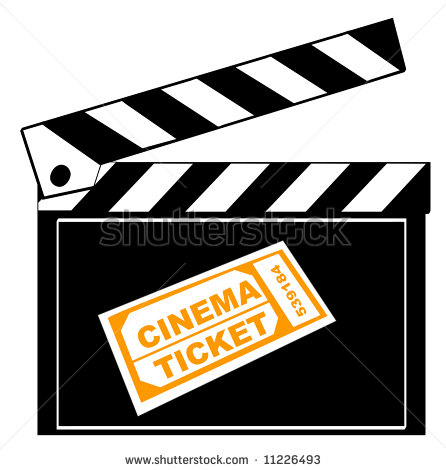 Movie Ticket Vector | Clipart Panda - Free Clipart Images