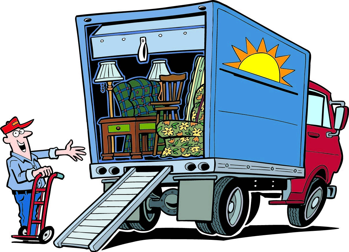 Moving truck clip art clipart panda free clipart images for Moving home pictures