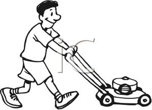 Lawn Mower Clipart Black And White | Clipart Panda - Free Clipart ...