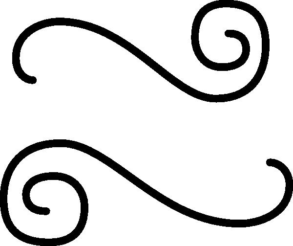 Logo Black Background White Squiggle Logo Black Background White