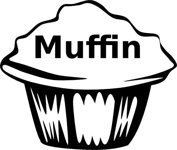 Muffin Clipart Black And White Wwwpixsharkcom Images Galleries