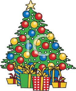 christmas tree with presents clipart clipart panda free clipart rh clipartpanda com  christmas tree with presents and lights clipart