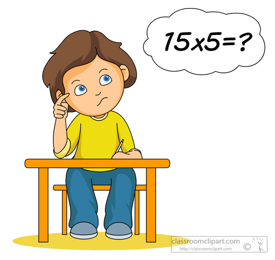 Multiplication Clip Art