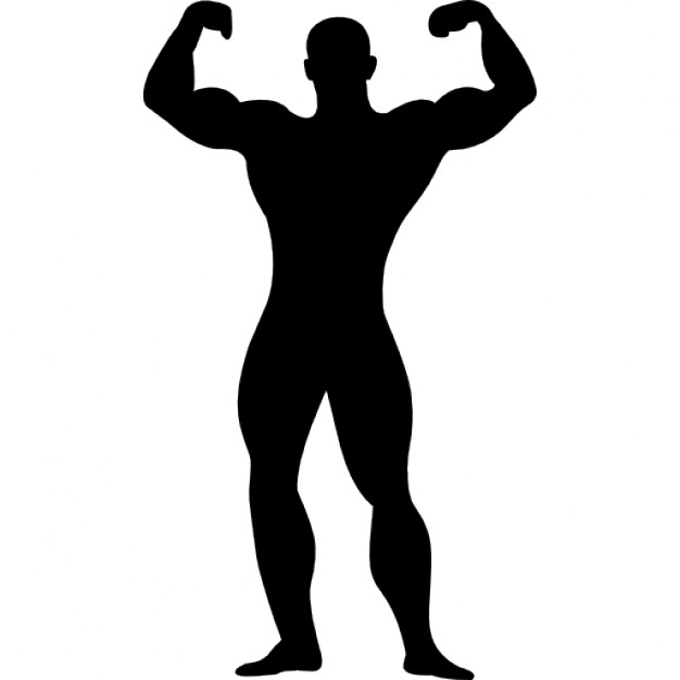muscle man silhouette clipart clipart panda free clipart images rh clipartpanda com muscle man cartoon clipart muscle man clipart vector free download