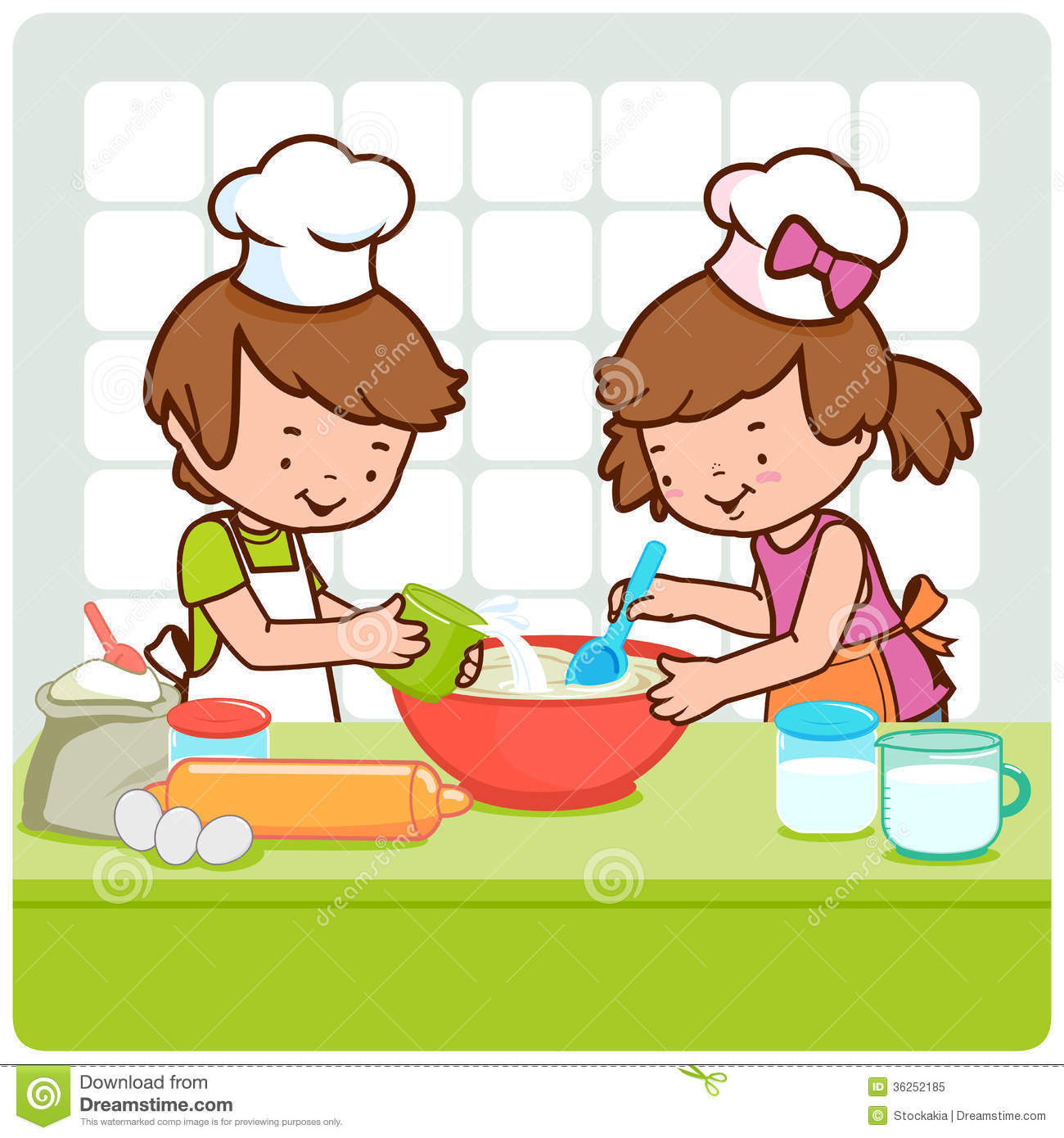 Cartoon kitchen counter gallery - Muse 20clipart