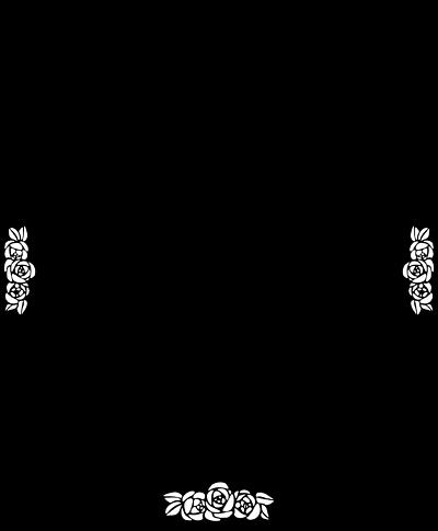 Black And White Rose Border Clip Art | Clipart Panda ...