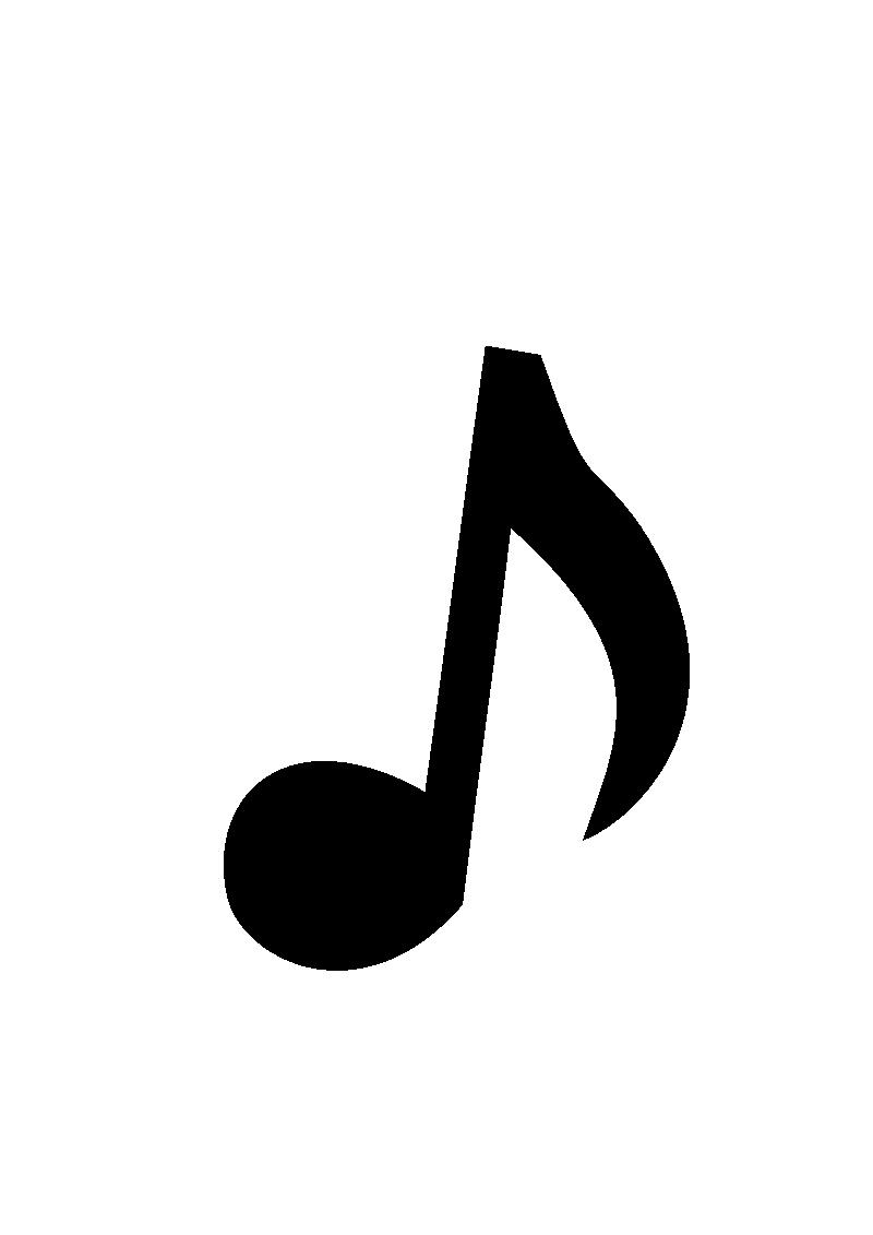 Music Note Clip Art Transparent Background | Clipart Panda