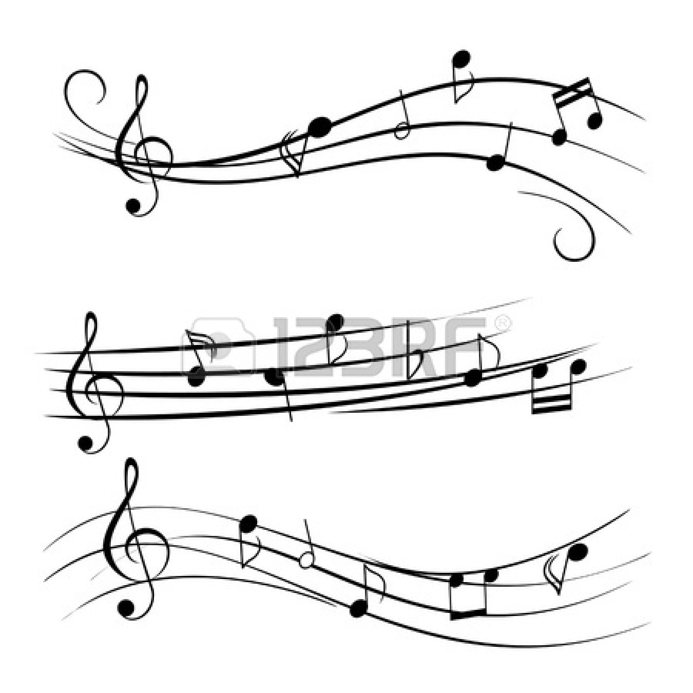 music-notes-border-cli...