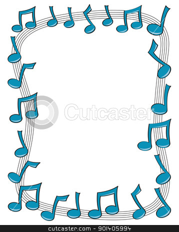 music note border clipart clipart panda free clipart images rh clipartpanda com Music Clip Art Music Note Page Border