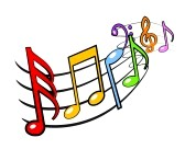 Colorful Music Notes In A Line | Clipart Panda - Free Clipart Images