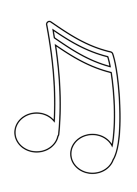 Music Notes Images Free Clip Art - Synkee