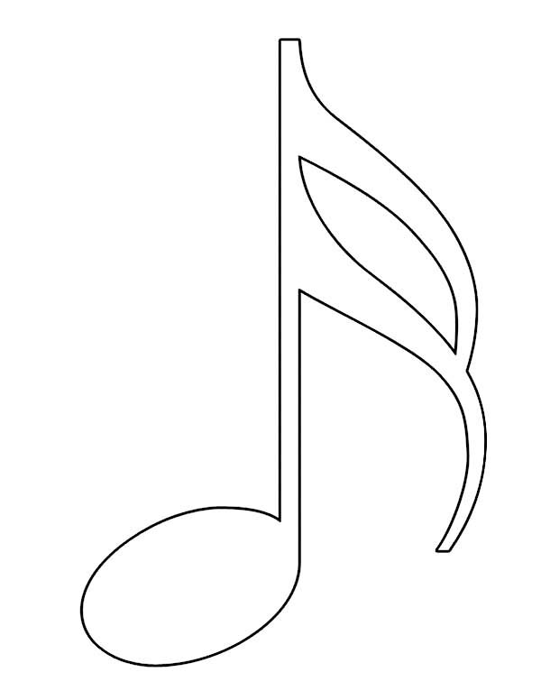 music notes coloring pages clipart panda free clipart