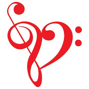 Music Notes Heart Clipart | Clipart Panda - Free Clipart ...