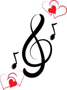 music notes heart clip art clipart panda free clipart images rh clipartpanda com music note clipart free christmas music clipart free