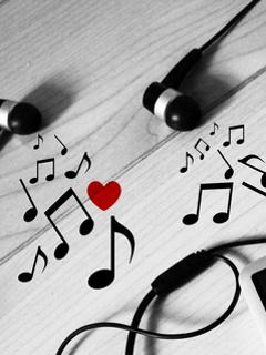 Music Notes Heart Wallpaper Clipart Panda Free Clipart
