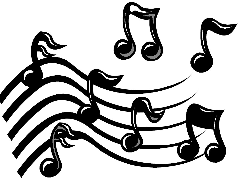 Clip Art Musical Clip Art music notes on staff clipart panda free images