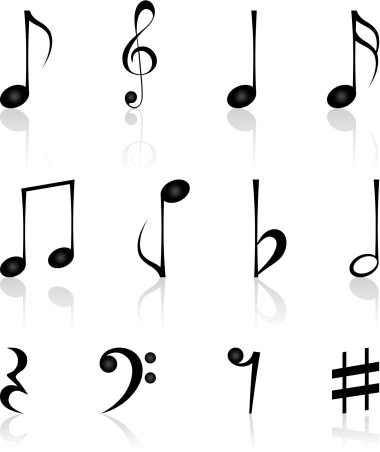 Music Notes Symbols And Meanings Clipart Panda Free Clipart Images