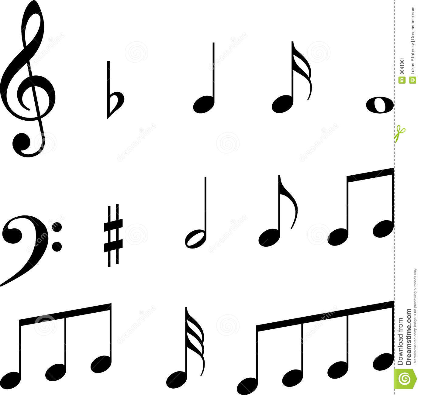 Music Notes Symbols Clipart Panda Free Clipart Images