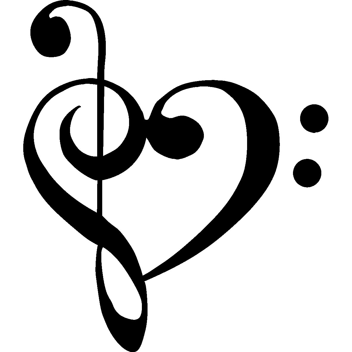 Music Note Symbol Tattoo Clipart Panda Free Clipart Images