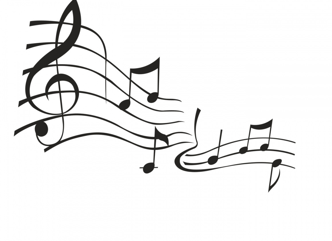 Musical Notes Background Black And White | Clipart Panda ...